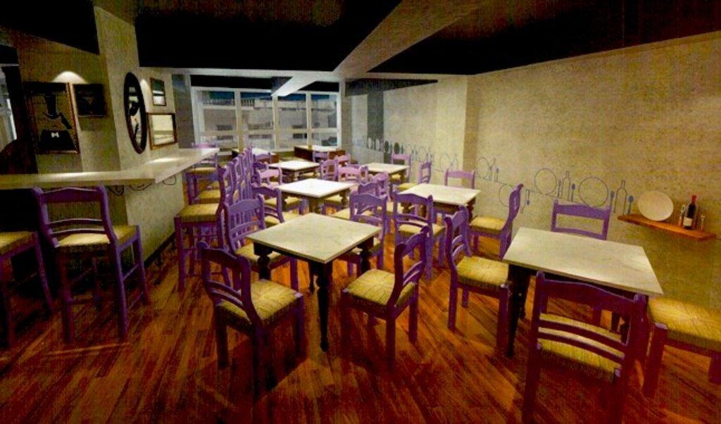 Enomod hong kong social dining comes to soho for Dining room hong kong