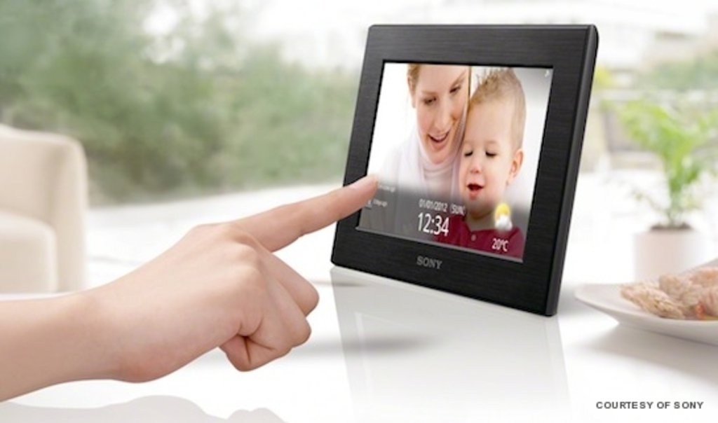 Sony Launches Wi-Fi Enabled Digital Photo Frame - Lifestyle Asia ...
