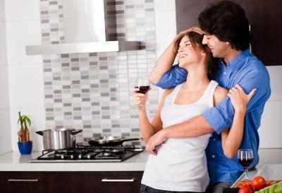 Výsledek obrázku pro lovers in kitchen