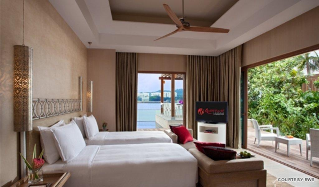 equarius hotela deluxe room rws equarius hotel and beach villas open in rws lifestyleasia singapore