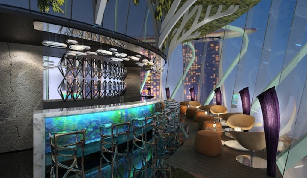 Charmant New Restaurant: SuperTree By Indochine At Gardens By The Bay    LifestyleAsia Singapore