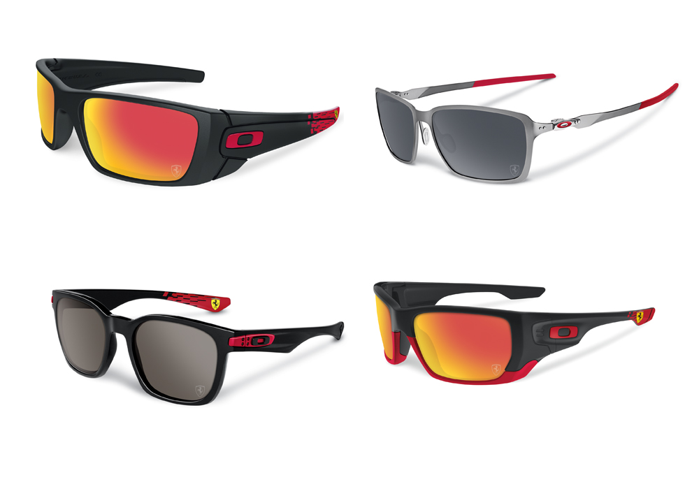 oakley sunglasses collection  Weekly obsession: Oakley and Scuderia Ferrari sunglass collection ...