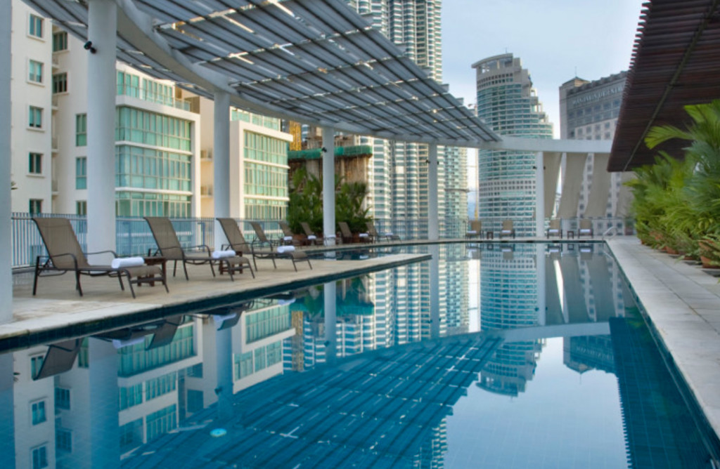 City stays 7 pools with a view in kl lifestyle asia kuala lumpur for Best hotel swimming pool in kuala lumpur