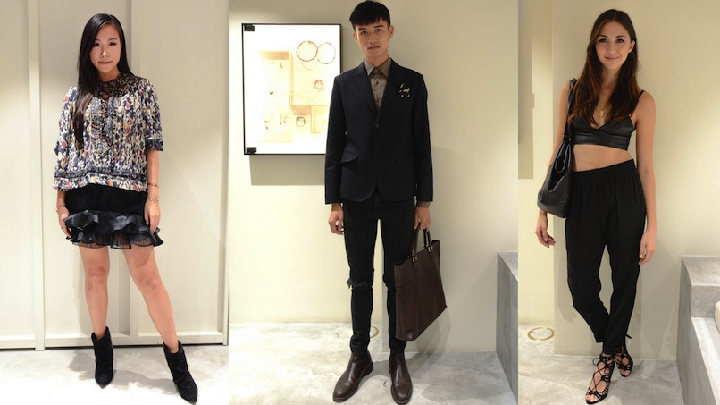Spotted: 10 best dressed at the Isabel Marant store opening LifestyleAsia Hong Kong