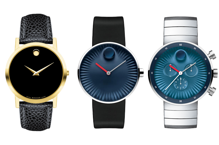 Movado Museum Watch and Edge Collection