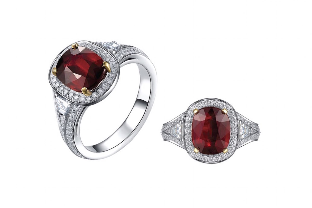 Giamore Danilo Giannoni Ring - 3ct Burmese ruby copy