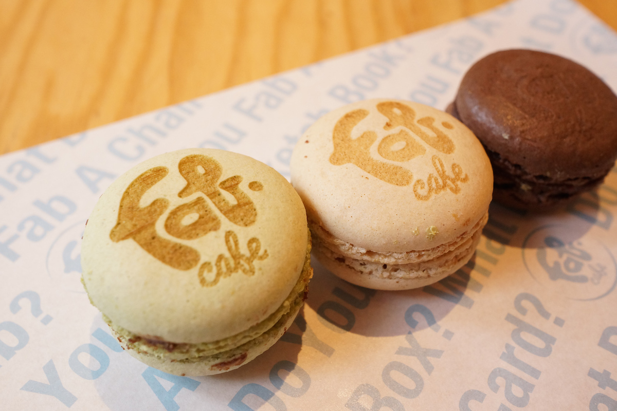 FabCafe Singapore Brown Fab Macaroons copy