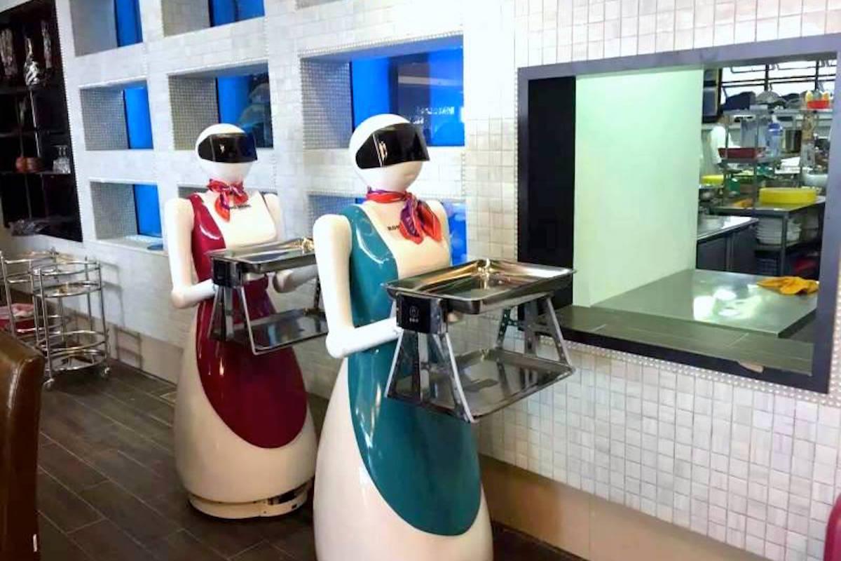 Rong Heng Seafood robots