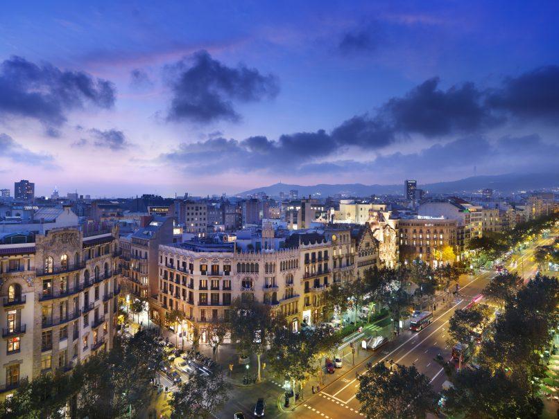 02.Mandarin Oriental, Barcelona - Views from Terrat rooftop