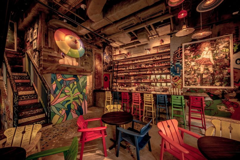 Djapa Brazilian Street Art And Fusion Cuisine In Wanchai