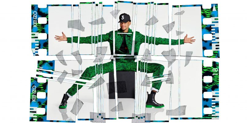 KENZO X H&M - Chance the Rapper shot by Jean-Paul Goude