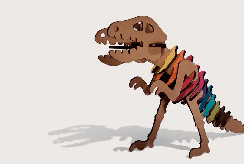 Meet Rexy, the #squadboss tyrannosaurus rex.