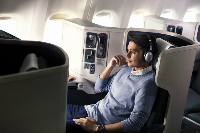 New long haul business class at Cathy Pacific
