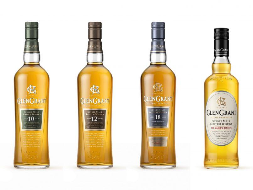 Glen Grant's premium range now includes the Glen Grant 10 year old, 12 year old single malt, 18 year old and The Major's Reserve.