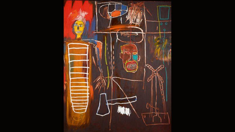 """Jean-Michel Basquiat's """"Air Power"""""""