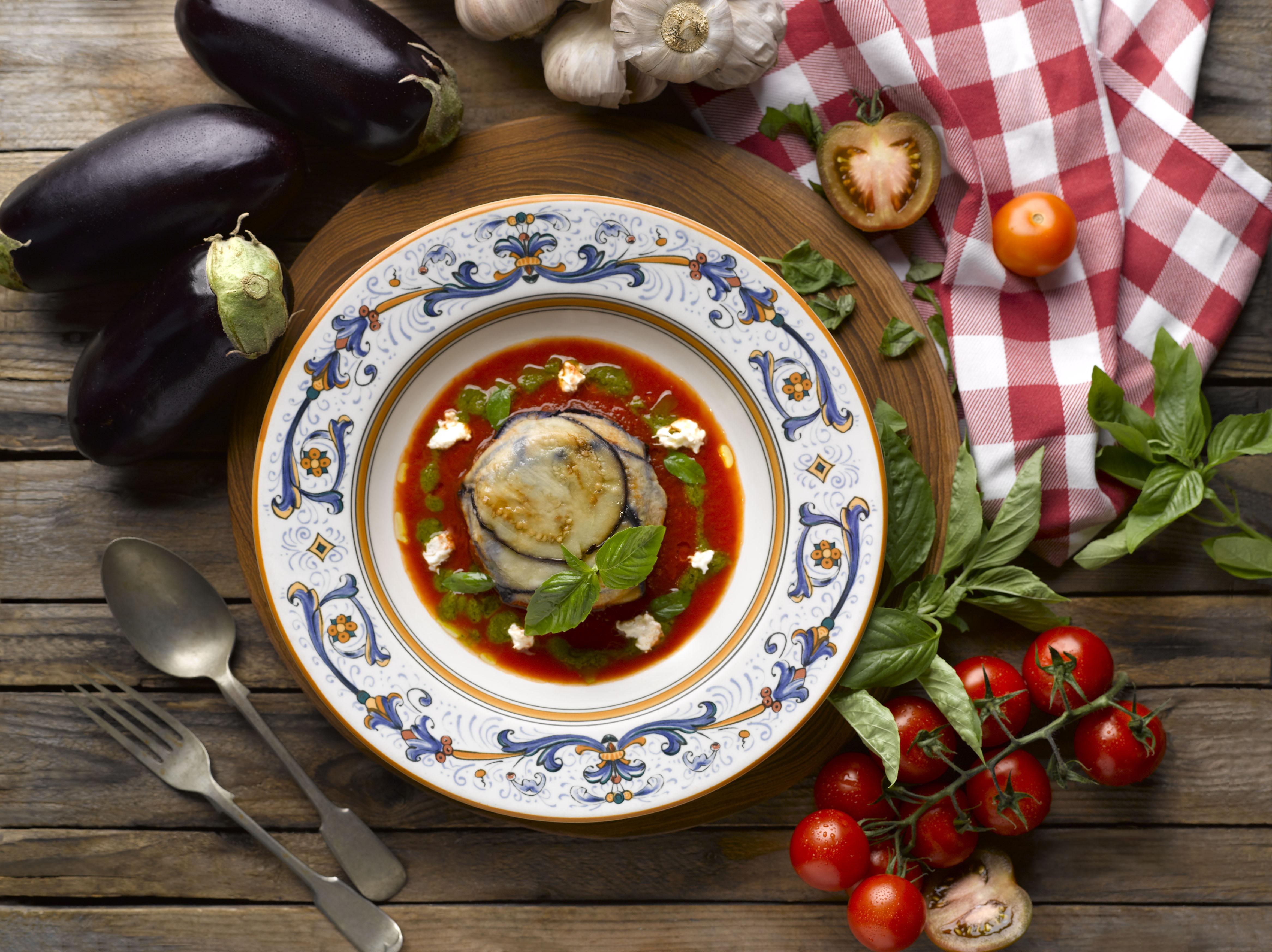 Eggplant Parmigiana Pete's Place