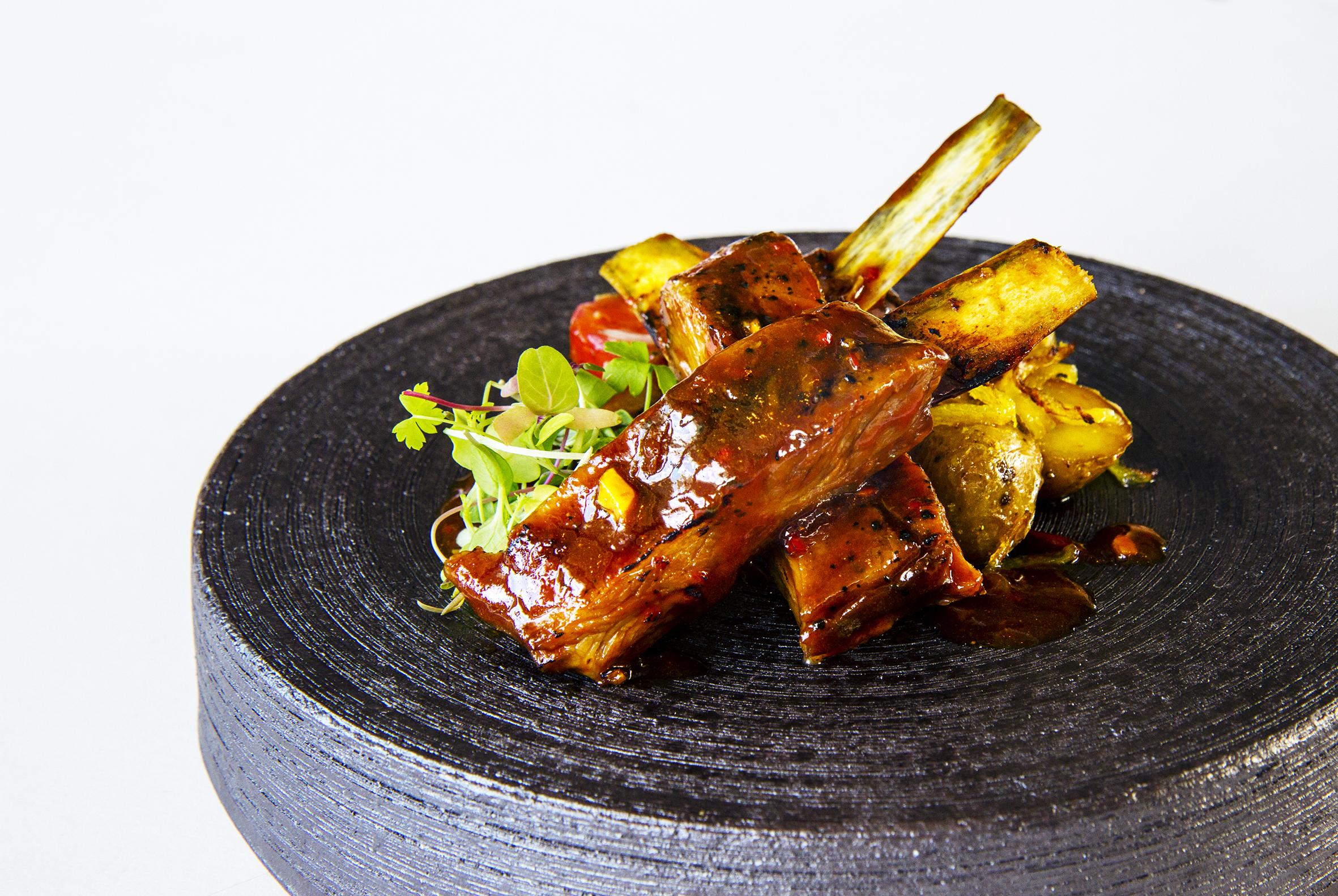 Grilled Lamb Ribs Ce La Vi