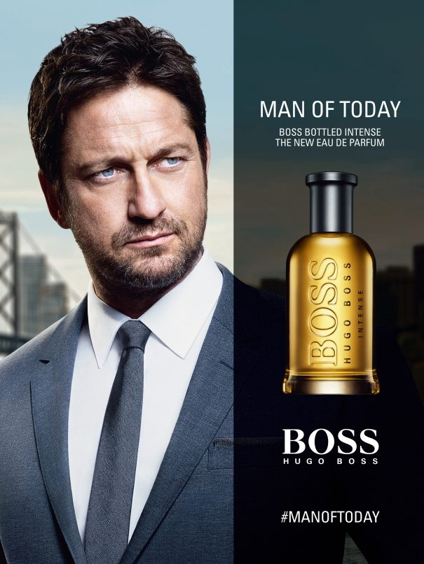 Boss Bottled Intense manoftoday campaign