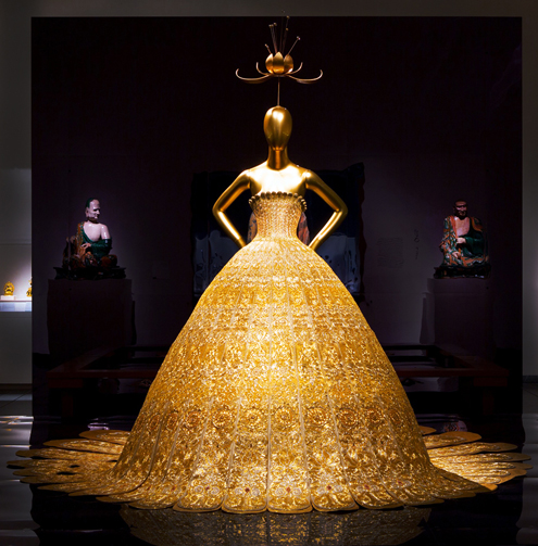 Guo Pei magnificent gold