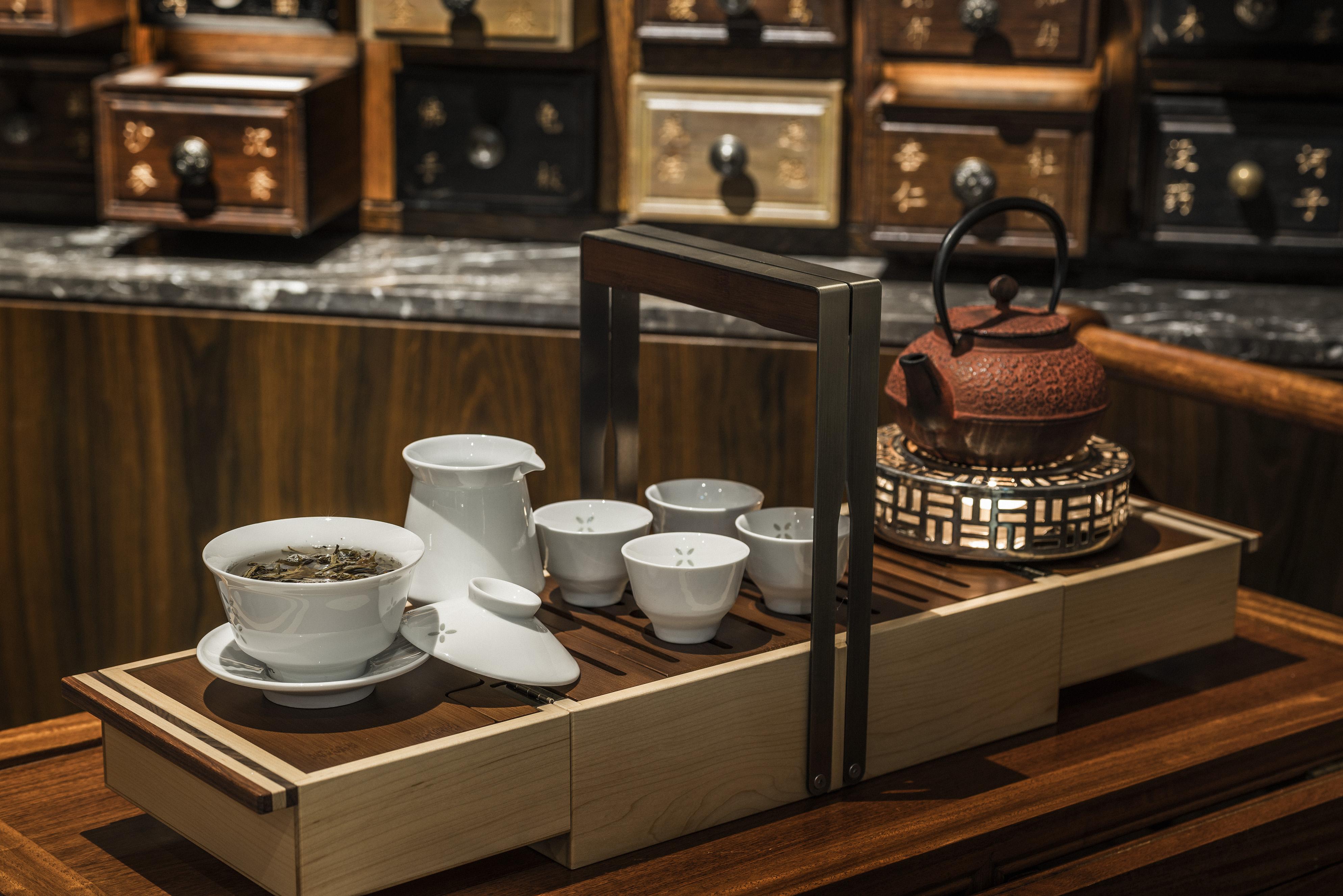 Jiang-nan chun - Premium Tea service