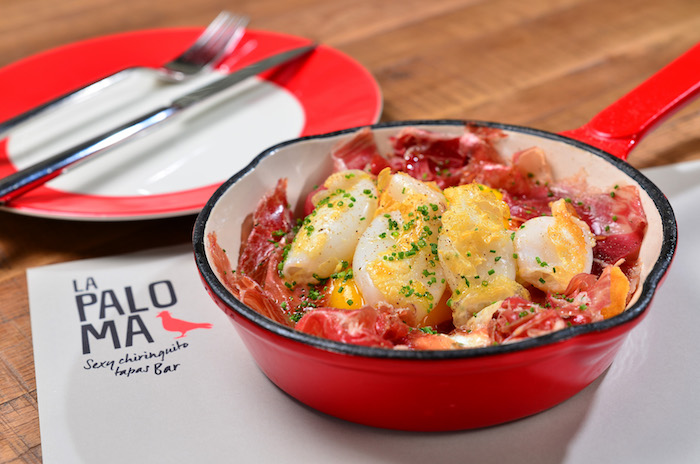 Rotos Broken Eggs - Baby Squid & Iberian Ham Shoulder3