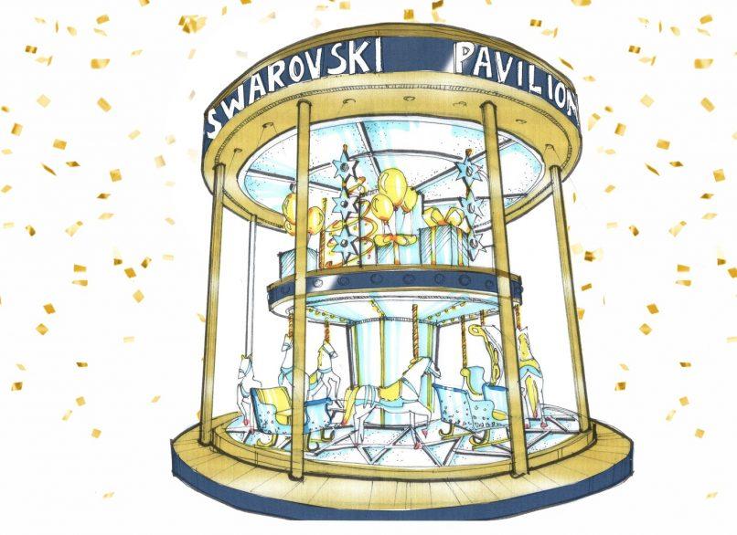 Swarovski merry go round