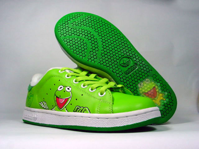 Kermit the Frog puts his stamp on the sneakers