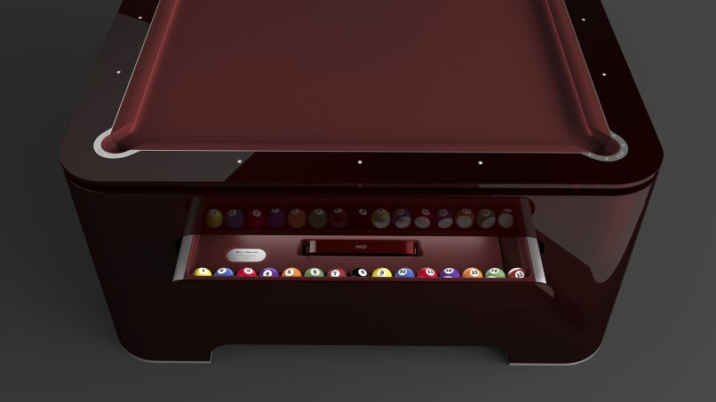 Digital Edge The Pool Table From The Future Lifestyle - El pool table