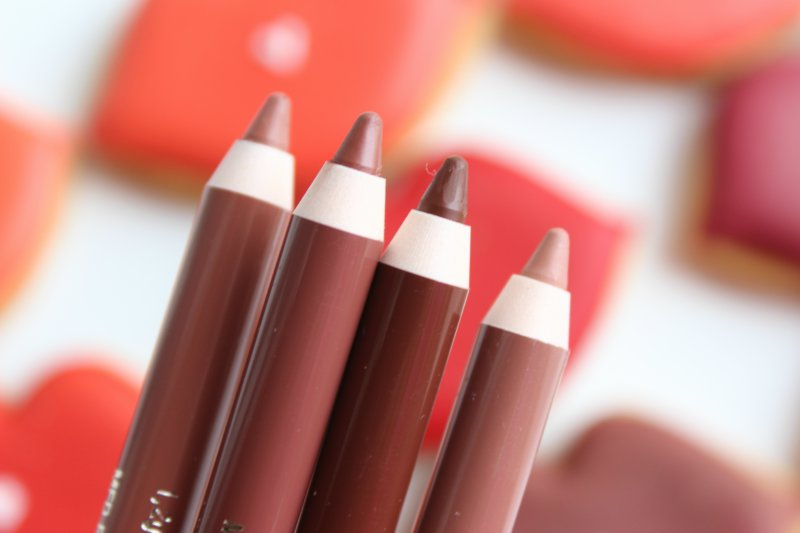 Clarins Nude Lipliner Pencils Review Swatches (14)