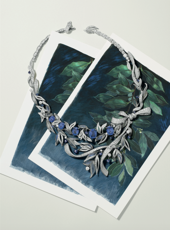 Chaumet Firmament Apollinien necklace
