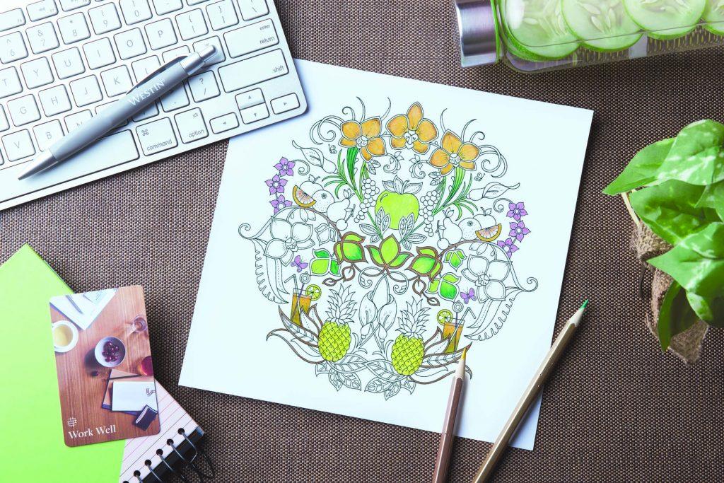 Colour Your Way To Wellness Westin X Johanna Basford