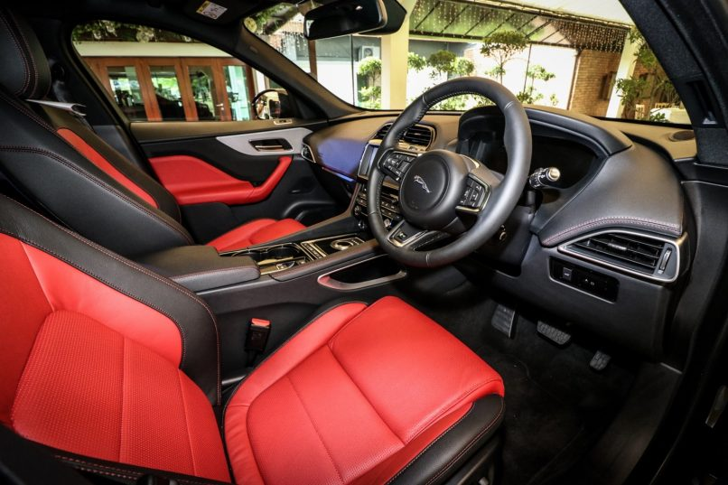 Interior of the All-New Jaguar F-PACE_2