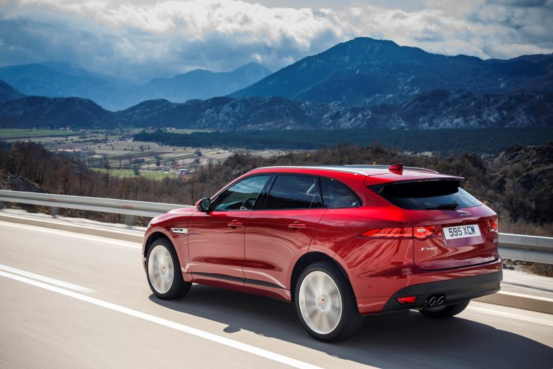 All-New Jaguar F-PACE_Side Rear