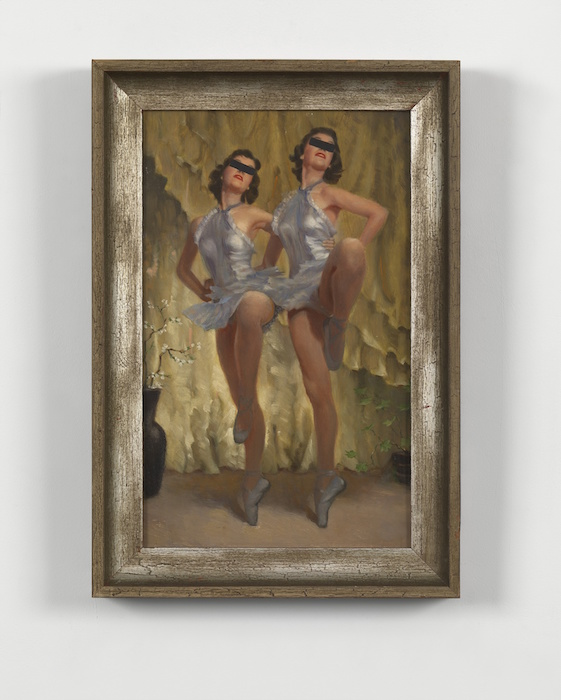 Hans-Peter Feldmann Untitled Oil on Canvas 51 x 34 cm Image Courtesy of the artist and Simon Lee Gallery
