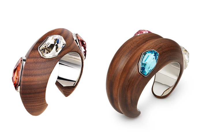 'I love cuffs because they are a powerful way to make a statement with jewellery' - Fiona Kotur