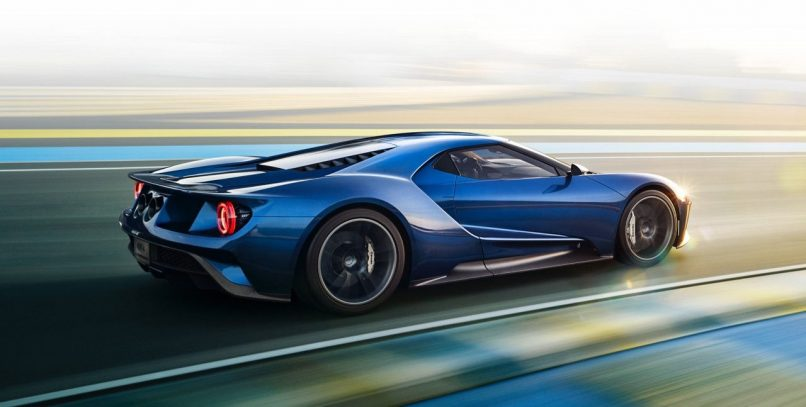 new year car ford gt 2017