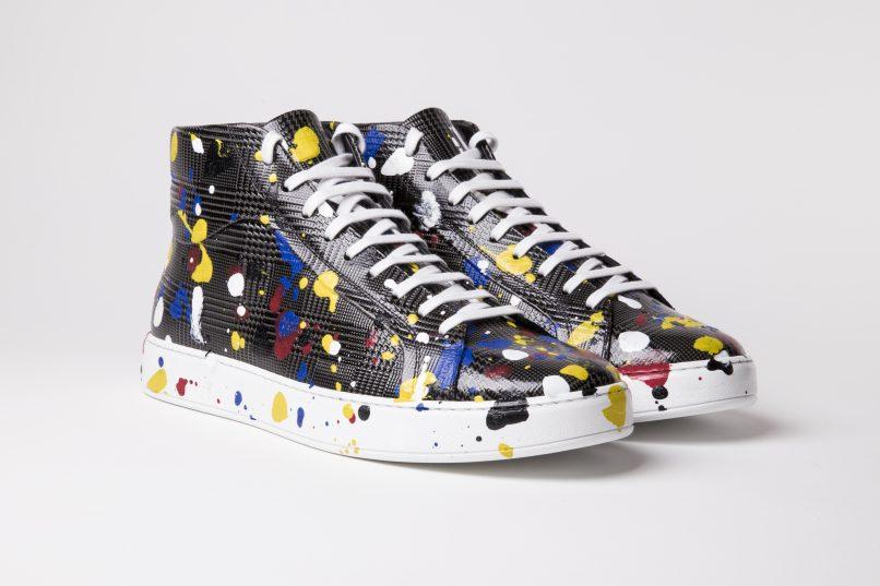 Time taken  Dior Homme Spring 17 sneakers 430e3686ba3