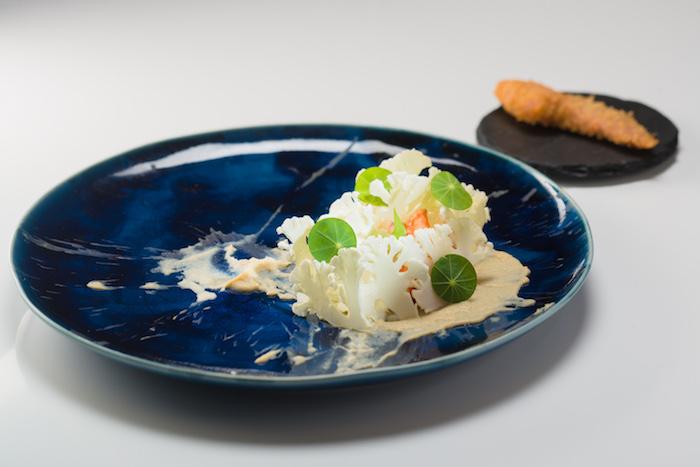 活龍蝦二食配芝士麵豉椰菜花2 (1)