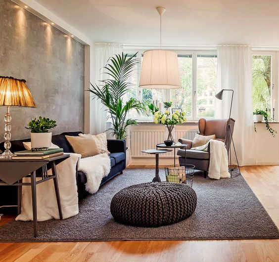 feng shui lighting. Feng Shui. Warm White Lighting Creates A Cozy Environment In The Living Room, Addition To Boosting Chi Flow. (Image Credit: Svenskfast) Shui
