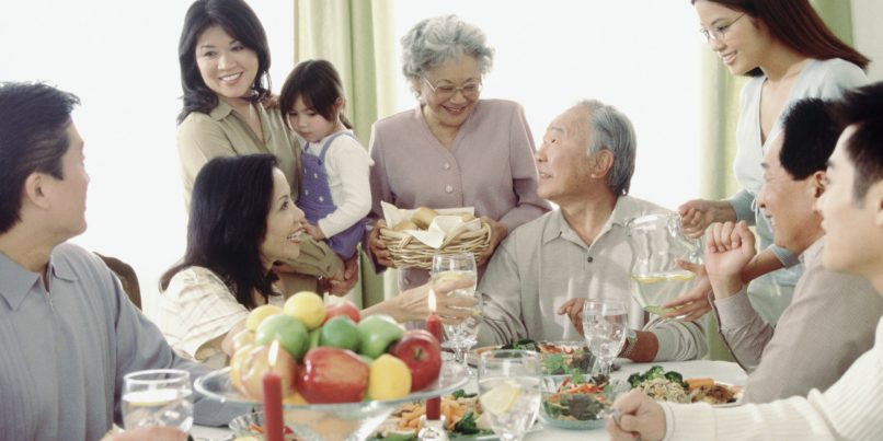 relatives at cny