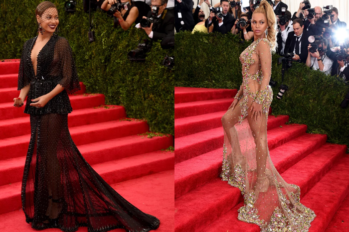 Riccardo Tisci has been designing Beyonce's MET Gala dresses every year since 2012.