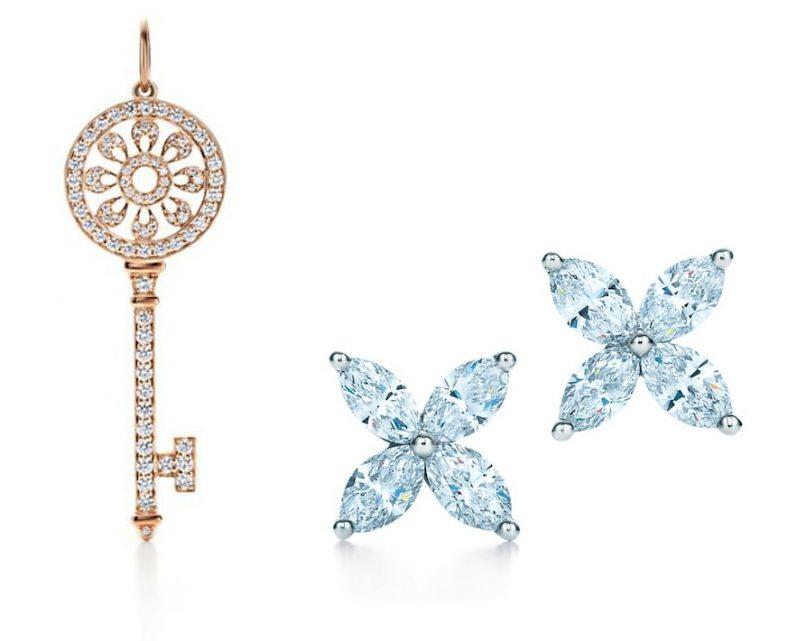 tiffany valentines jewellery - diamonds