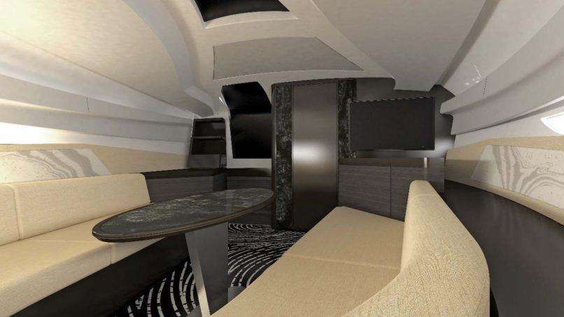 Lexus Sport Yacht Passenger Cabin
