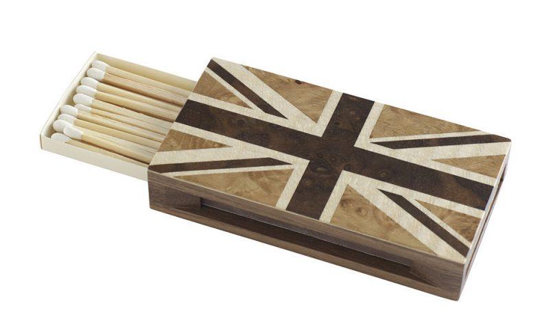 linley match sleeve union jack
