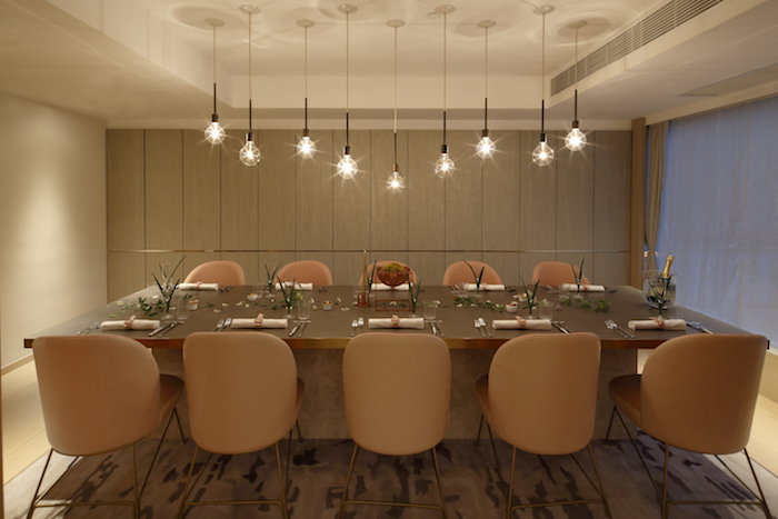 Tates Private Dining Room Can Accommodate Up To 12 Guests For Dinner