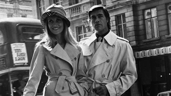 history of burberry trench coat