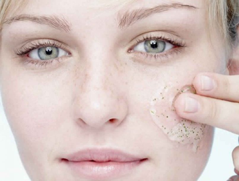 physical exfoliation or chemical exfoliation