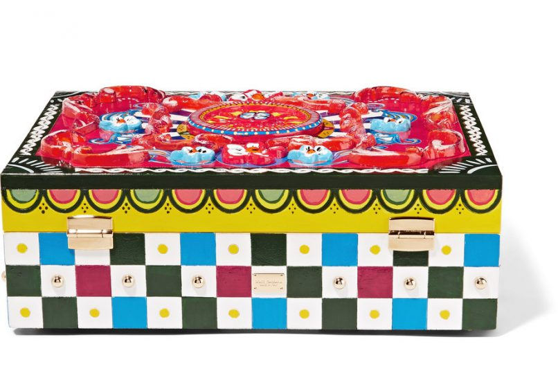dolce & gabbana carretto jewellery box