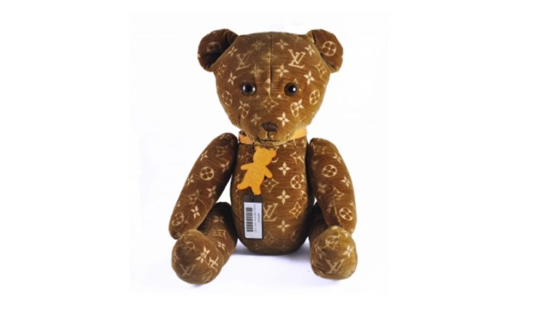 louis vuitton teddy bear doudou