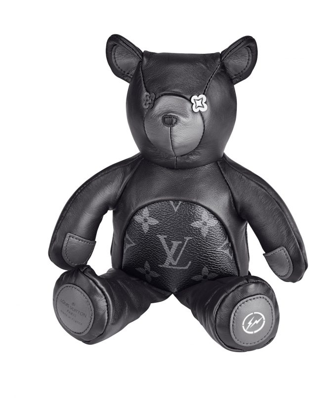 louis vuitton teddy bear fragment singapore